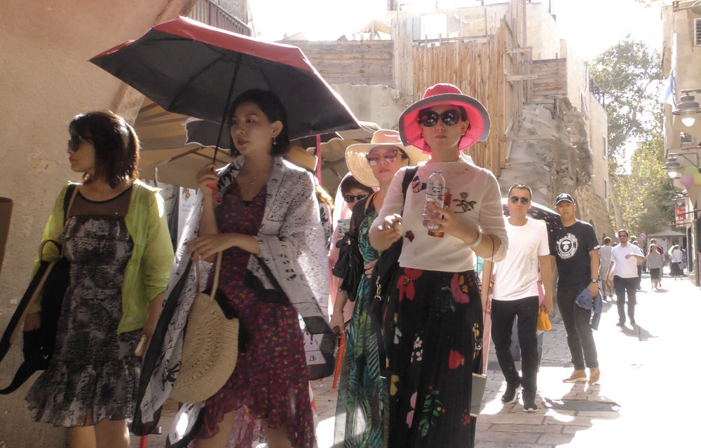 Chinese Tourism To Israel Rebounds After Steep Decline (with VIDEO)