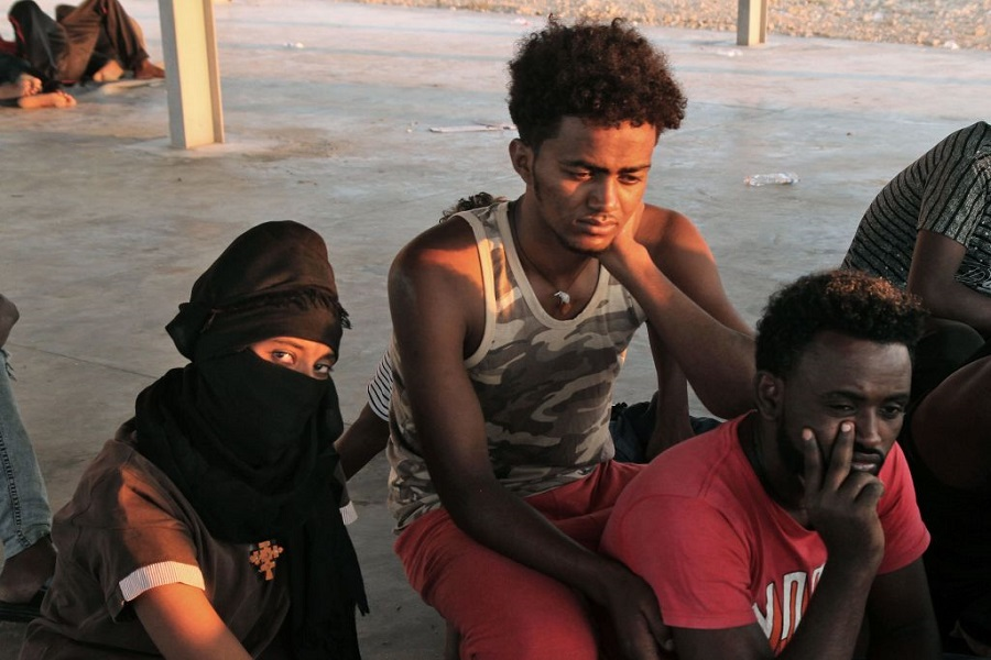 Libyan Coast Guard Recovers Dozens of Bodies after Migrant Boat Capsizes