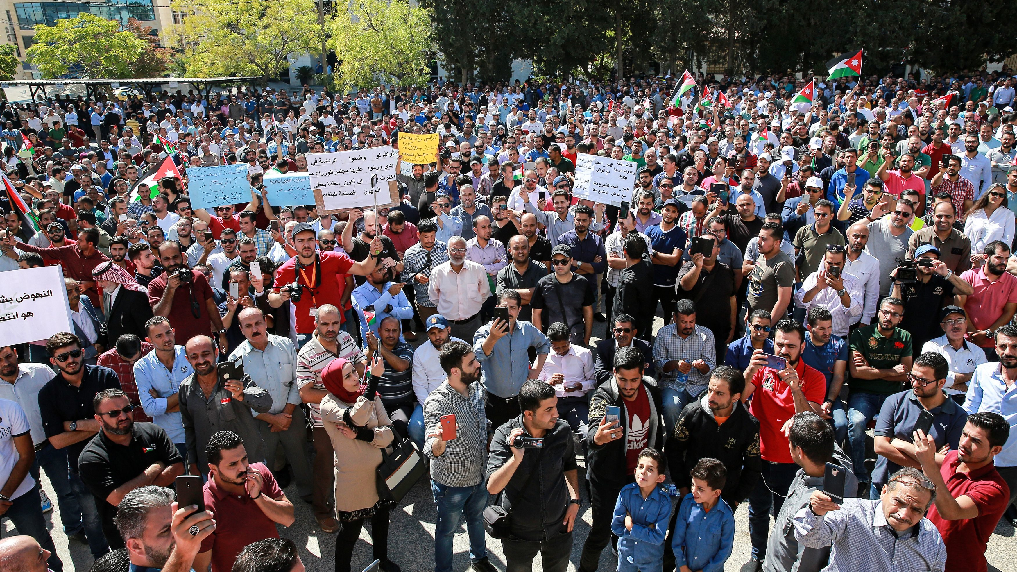 Jordanian Government Reaches Deal with Teachers, Ending Strike
