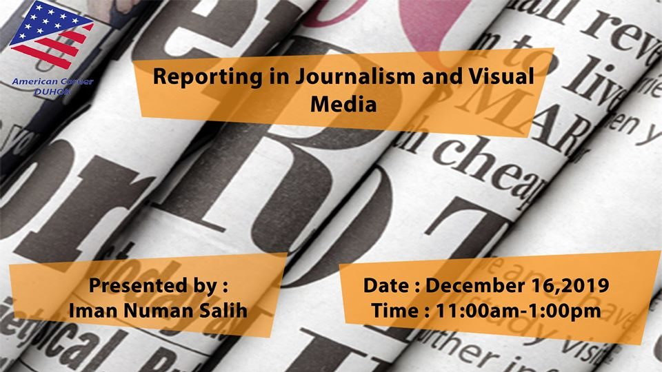 Workshop: Writing for Newspapers and TV