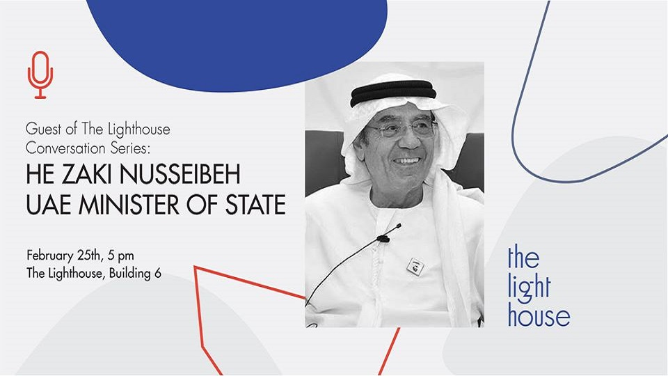 In Conversations with UAE Minister of State HE Zaki Nusseibeh