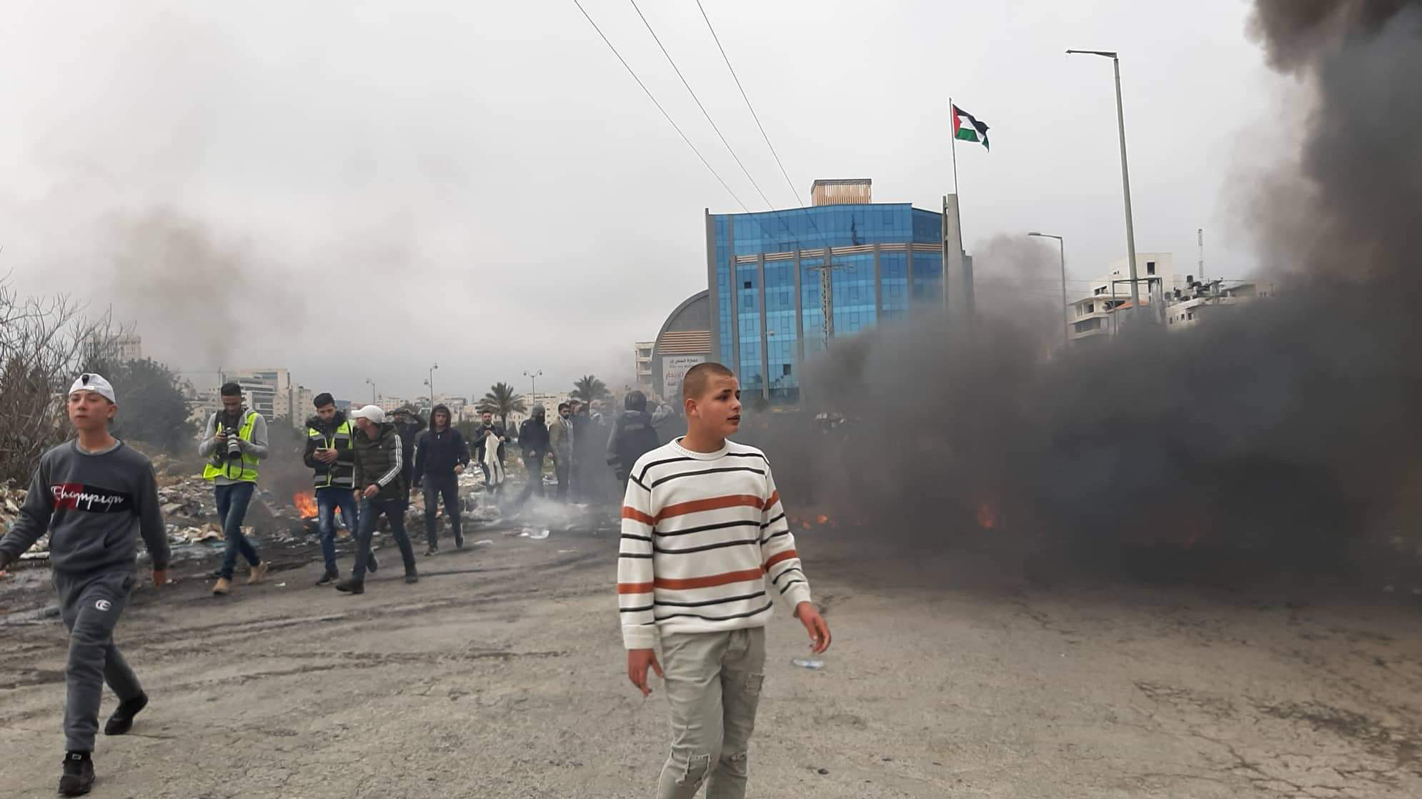 Clashes at Beit El over American Peace Plan