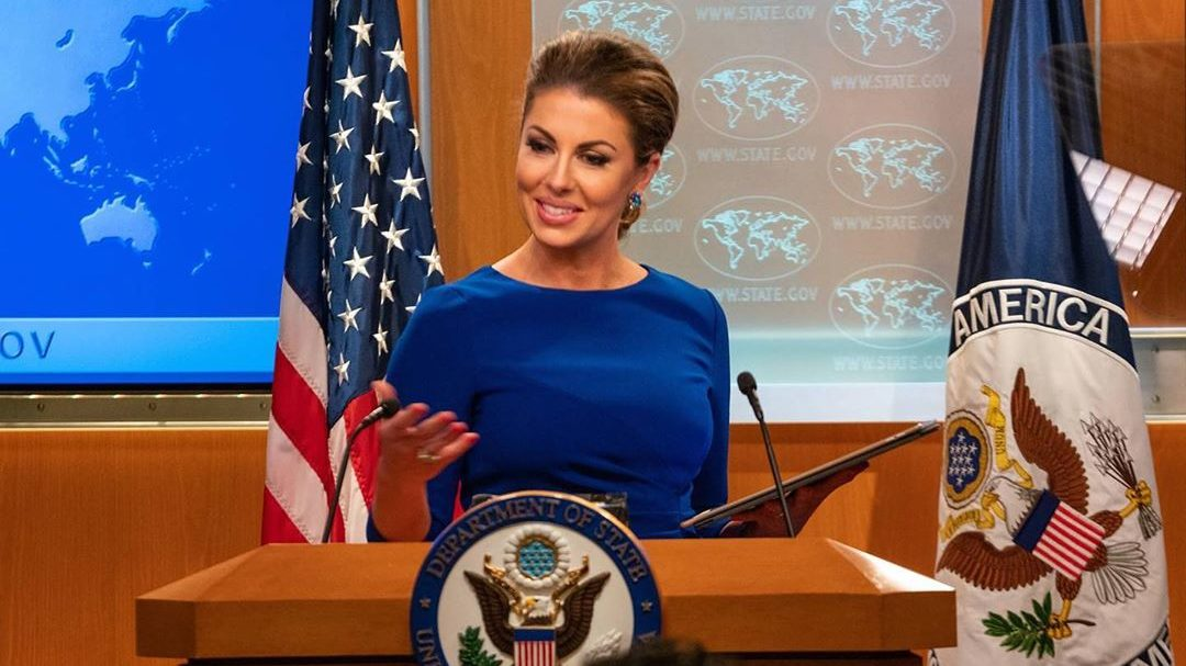 State Department Spokeswoman Ortagus: Our Job is to Deliver on the President's Vision for Peace