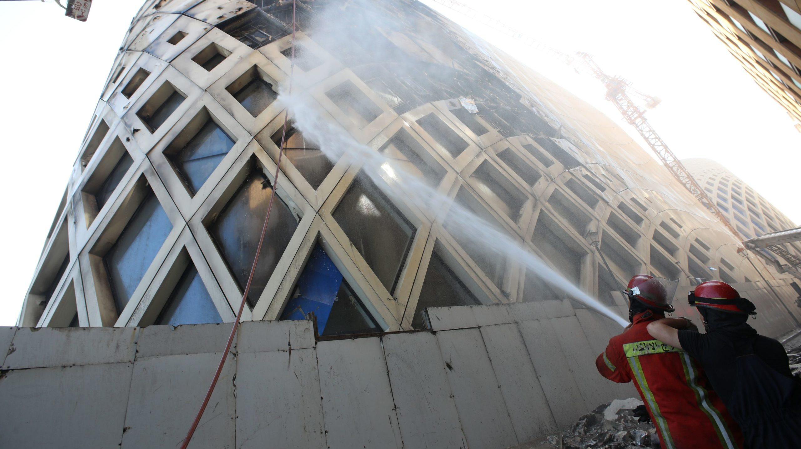 Beirut Suffers 3rd Large Fire in Week