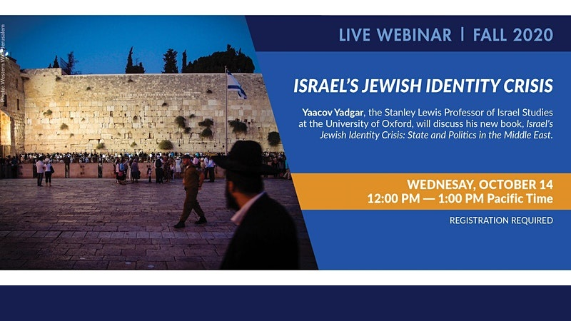 Israel's Jewish Identity Crisis: State and Politics in the Middle East