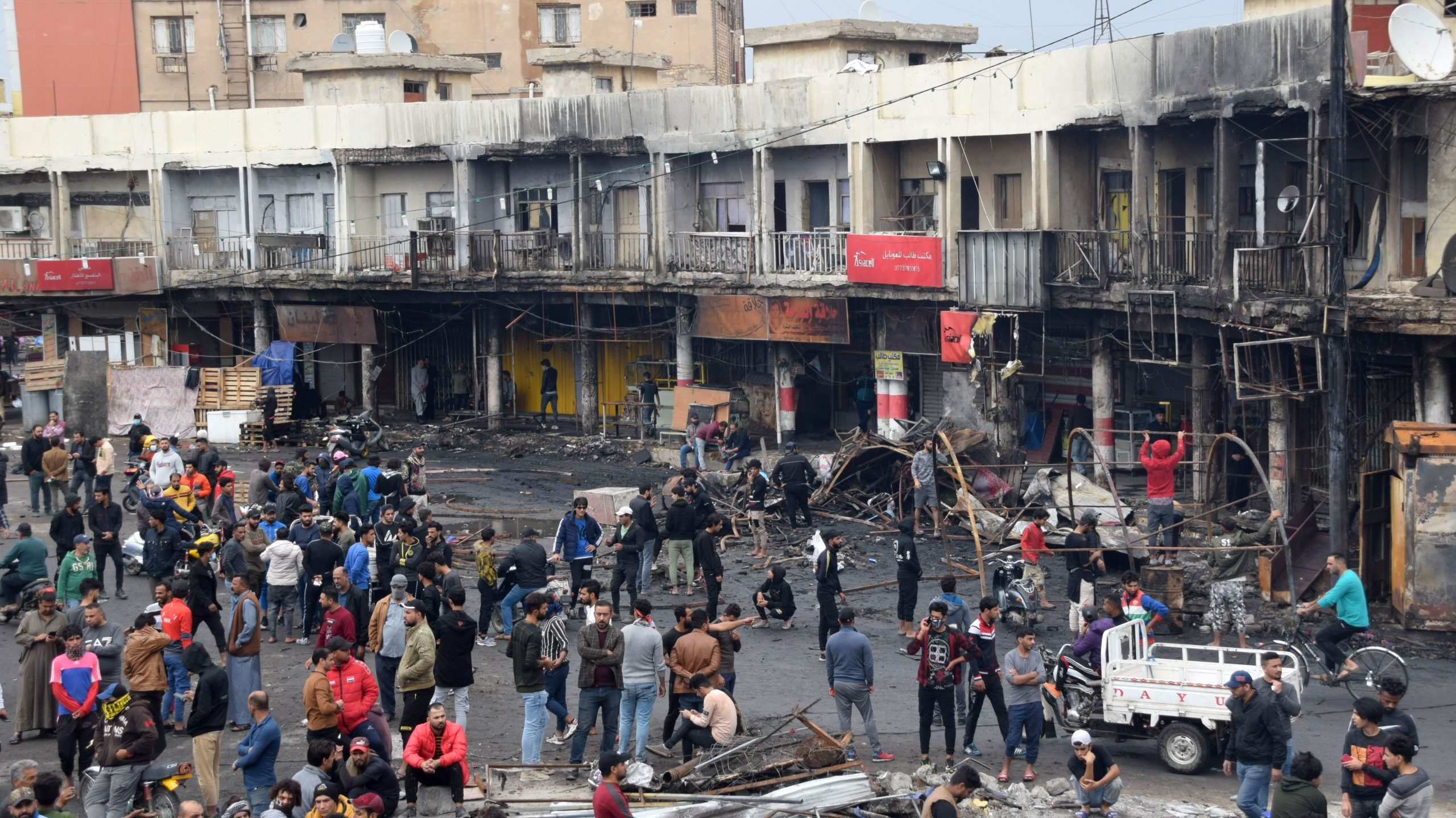 Protests Turn Violent, Deadly in Iraq