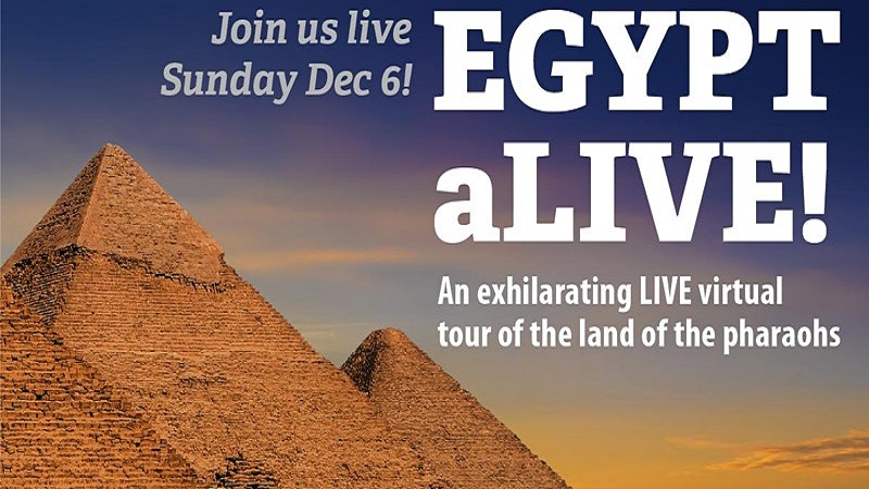 EGYPT ALIVE! Virtual tour of the Land of the Pharaohs