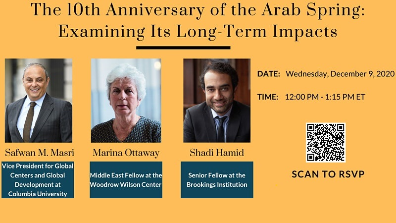 The 10th Anniversary of the Arab Spring: Examining Its Long-Term Impacts