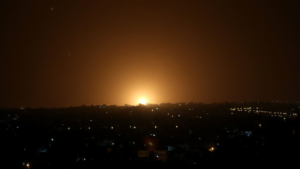 Israeli Airstrikes Hit Hamas Targets in Gaza After Incendiary Balloons Spark Fires