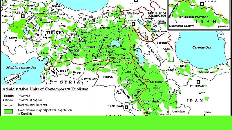 The Question of Kurdistan in the Middle East