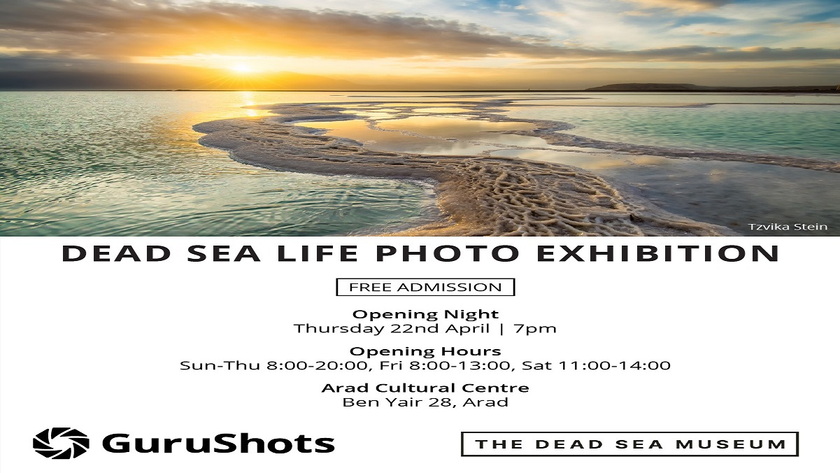 Announcing the Winners of the First Int'l Dead Sea Photo Competition
