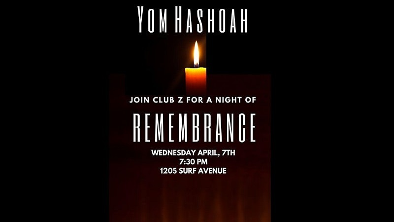 Yom Hashoah Remembrance Memorial