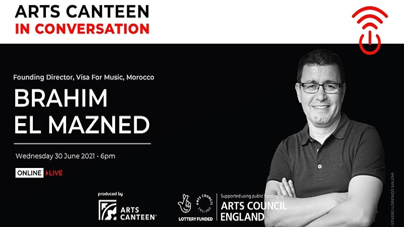 Art Canteen in Conversation with Brahim El Mazned