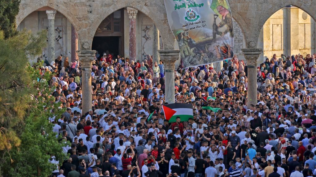 Mass Attendance at Temple Mount for Eid Al-Adha Celebrations