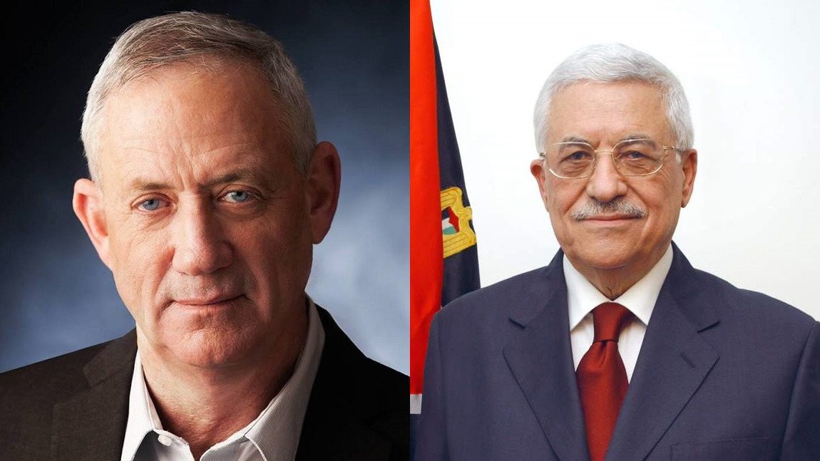 Israeli Defense Minister Meets With Palestinian Authority President Abbas