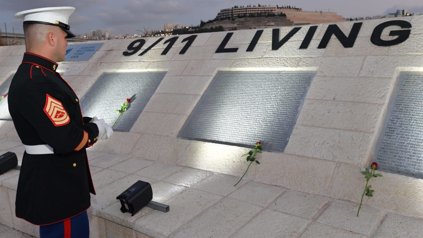 US Embassy in Israel, Jewish National Fund Organizations Hold 9/11 Memorial Service